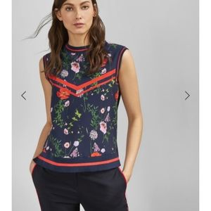 Ted Baker Hedgerow knitted rib tank